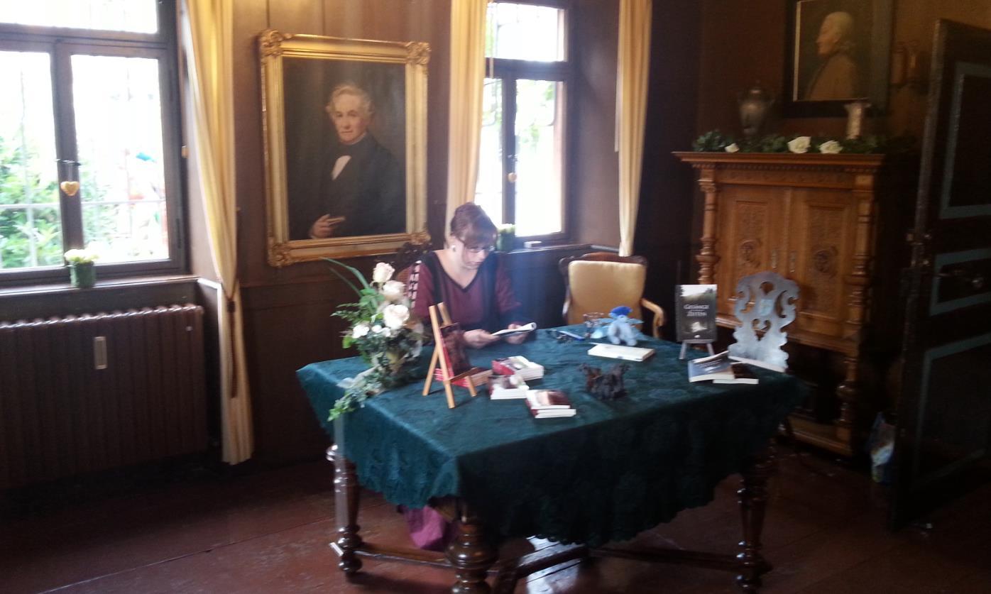 Stefanie Bender - Lesung im Drachenmuseum