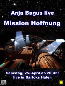 Anja Bagus liest in Second Life