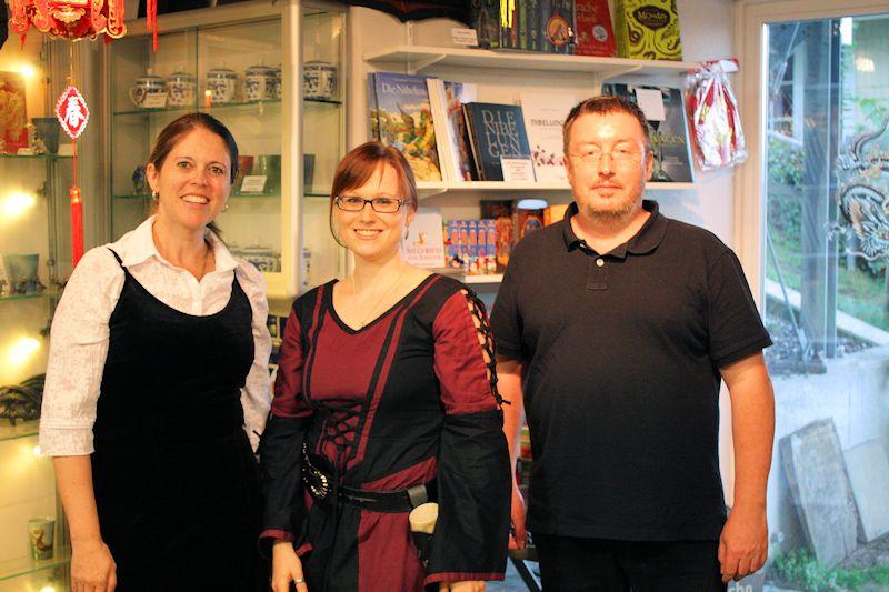 Gruppenbild im Drachenmuseum