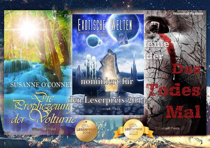 3-fach nominiert für den Leserpreis 2014